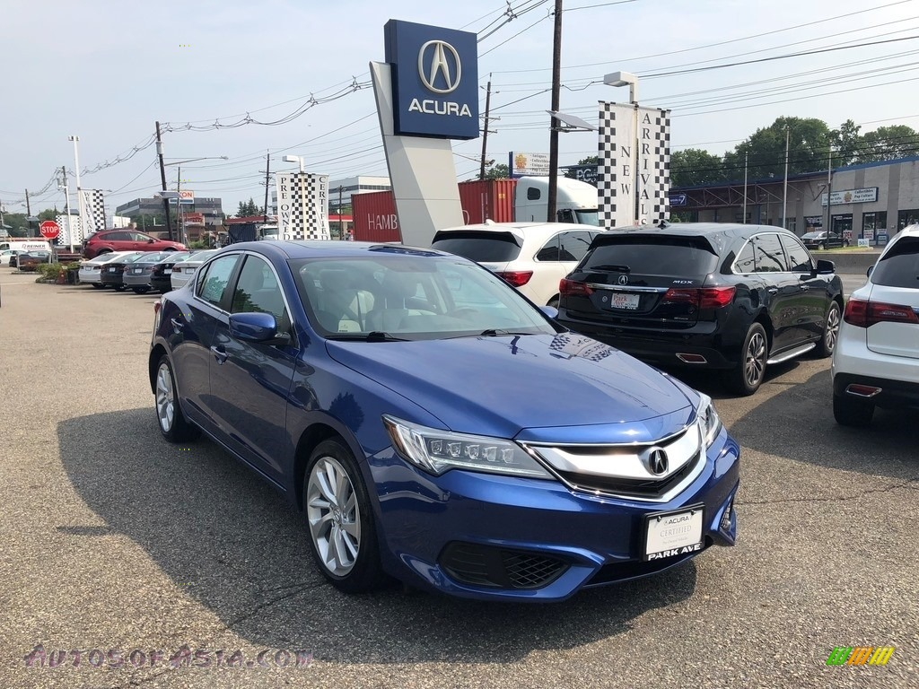 2016 ILX  - Catalina Blue Pearl / Graystone photo #1