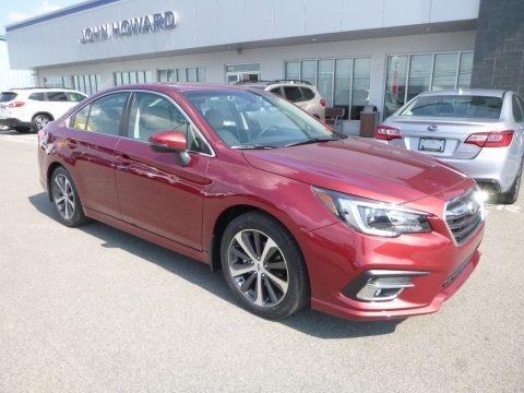 Crimson Red 2019 Subaru Legacy 2.5i Limited