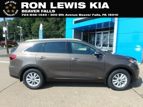 Dragon Brown 2019 Kia Sorento LX V6 AWD