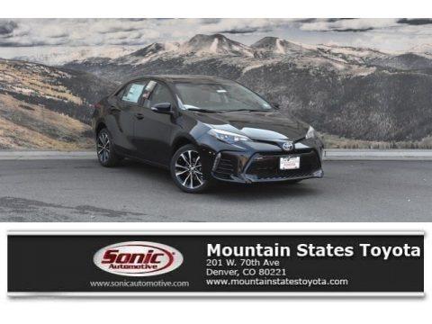 Black Sand Pearl 2019 Toyota Corolla L