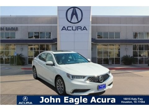 Platinum White Pearl 2019 Acura TLX Sedan