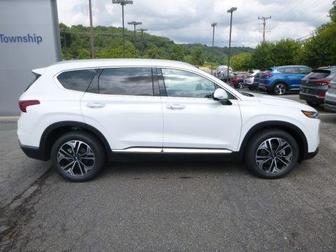 Chalk White 2018 Hyundai Kona SEL