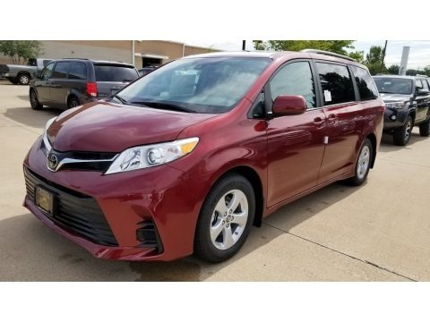 Salsa Red Pearl 2019 Toyota Sienna LE