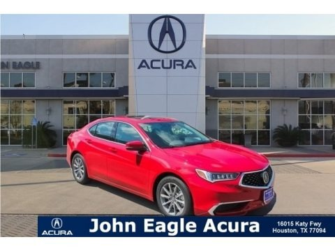 San Marino Red 2019 Acura TLX Sedan