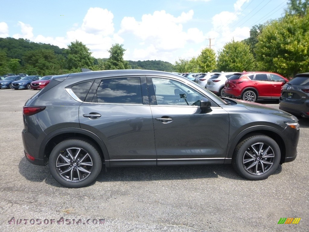 2018 CX-5 Grand Touring AWD - Machine Gray Metallic / Black photo #1