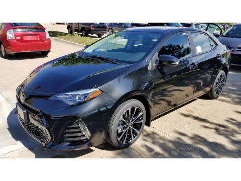 Black Sand Pearl 2019 Toyota Corolla XSE