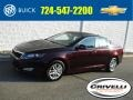 Kia Optima LX Dark Cherry Pearl Metallic photo #1