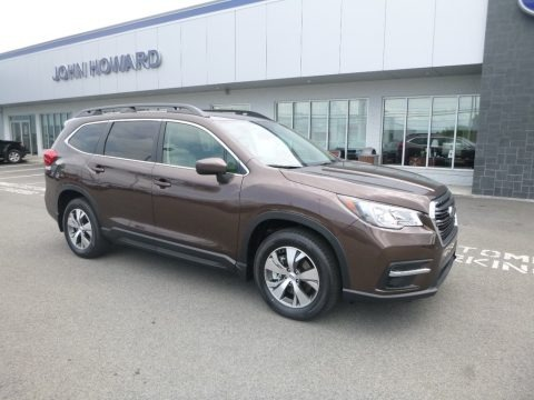 Cinnamon Brown Pearl 2019 Subaru Ascent Premium