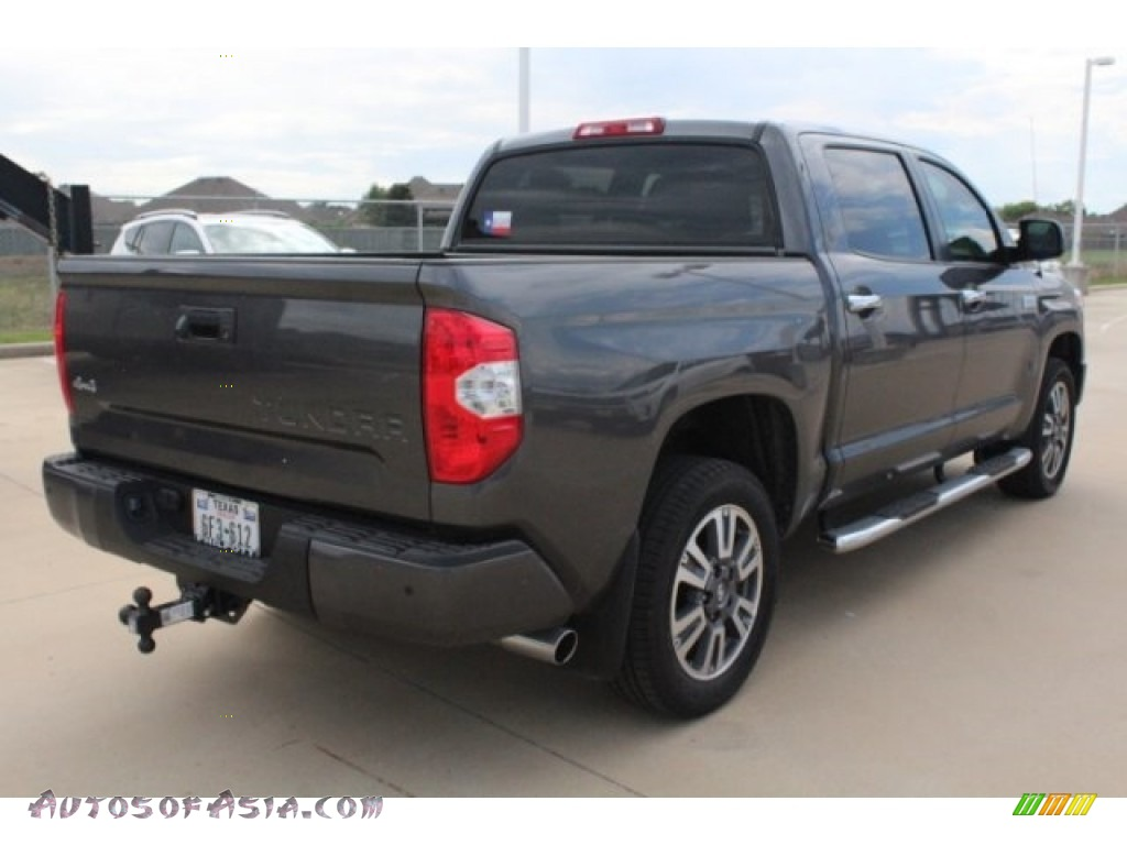 2019 Tundra Platinum CrewMax 4x4 - Magnetic Gray Metallic / Black photo #8