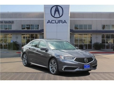 Modern Steel Metallic 2019 Acura TLX V6 SH-AWD Sedan