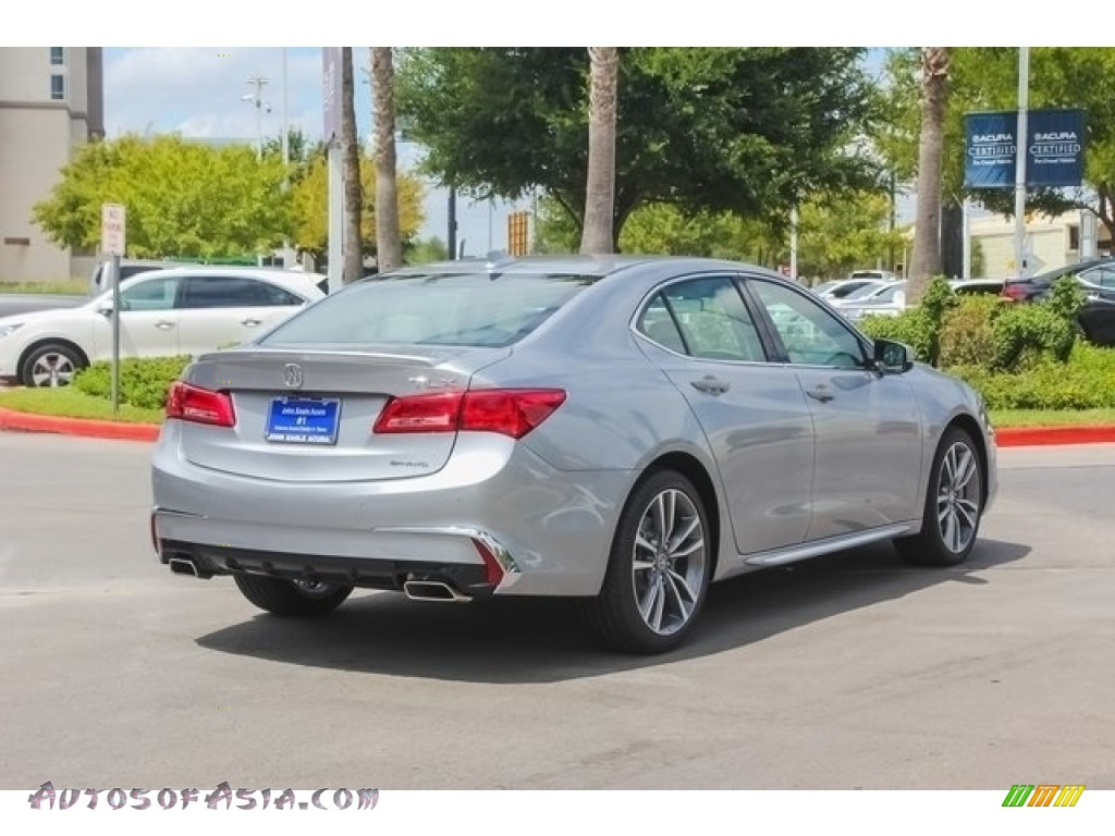 2019 TLX V6 SH-AWD Sedan - Lunar Silver Metallic / Graystone photo #7