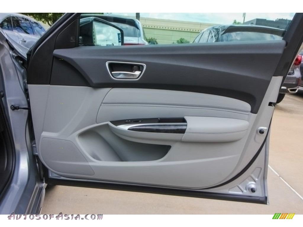 2019 TLX V6 SH-AWD Advance Sedan - Lunar Silver Metallic / Graystone photo #22
