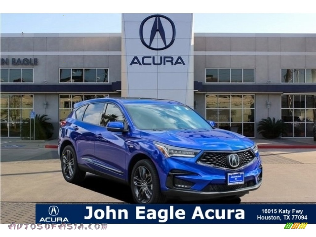2019 RDX A-Spec - Apex Blue Pearl / Ebony photo #1