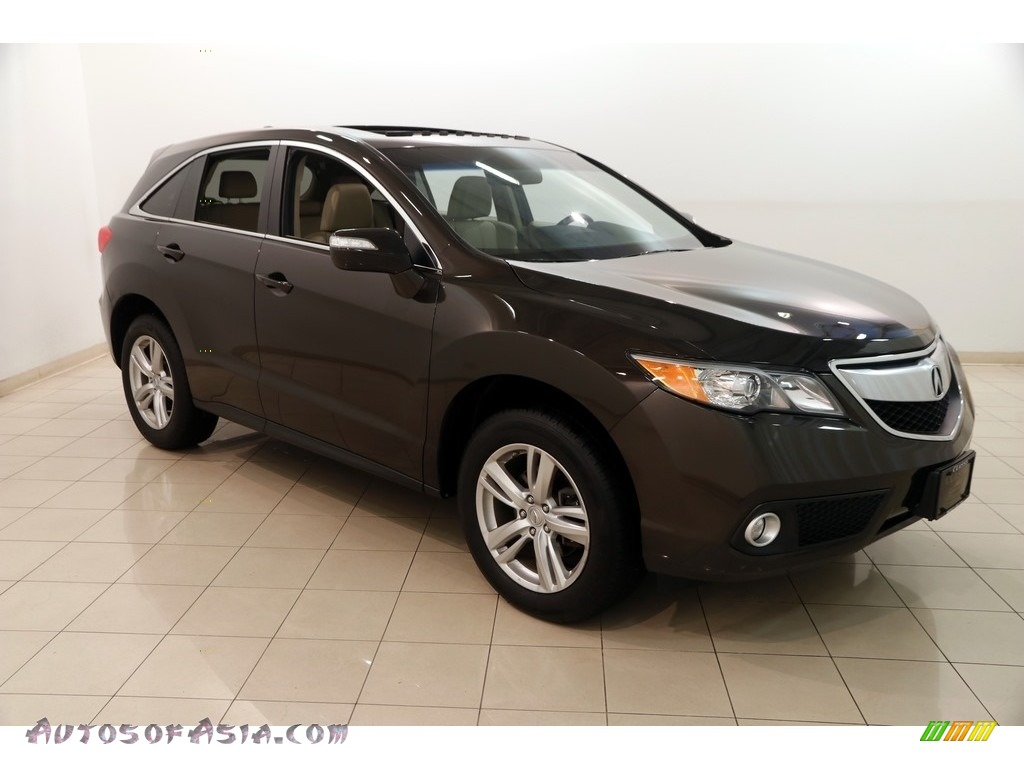 2014 RDX Technology AWD - Kona Coffee Metallic / Parchment photo #1