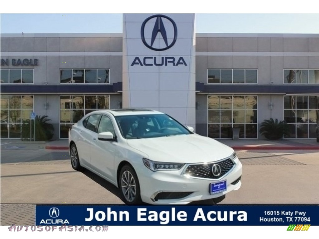 Bellanova White Pearl / Ebony Acura TLX Technology Sedan