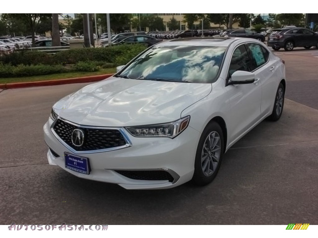2018 TLX Technology Sedan - Bellanova White Pearl / Ebony photo #3