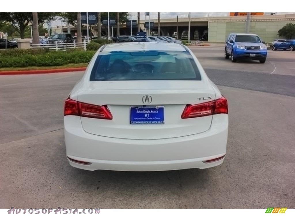 2018 TLX Technology Sedan - Bellanova White Pearl / Ebony photo #6