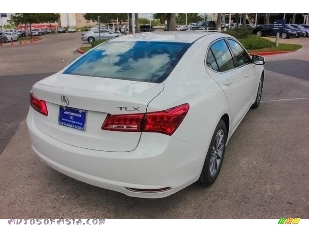 2018 TLX Technology Sedan - Bellanova White Pearl / Ebony photo #7