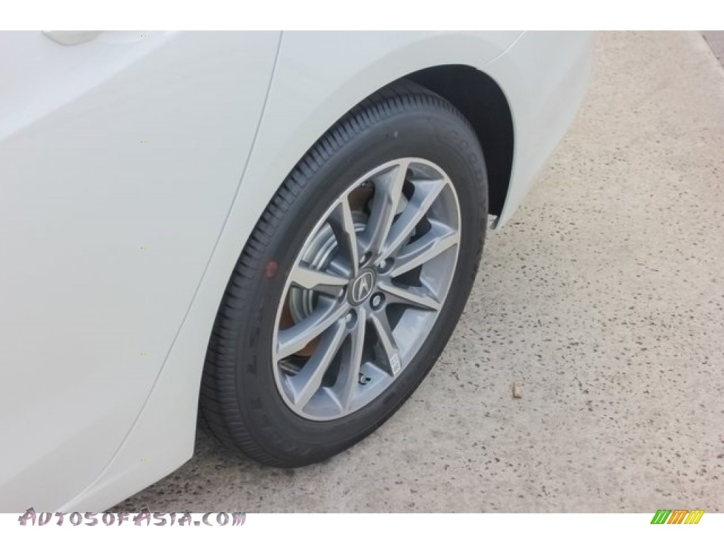 2018 TLX Technology Sedan - Bellanova White Pearl / Ebony photo #13