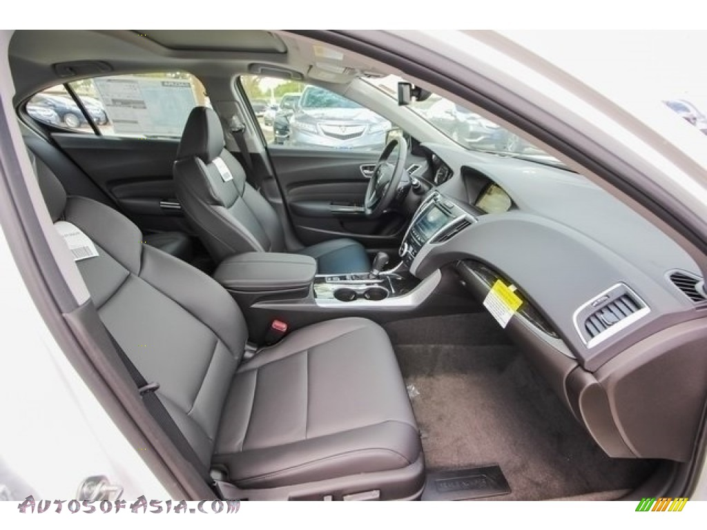 2018 TLX Technology Sedan - Bellanova White Pearl / Ebony photo #25