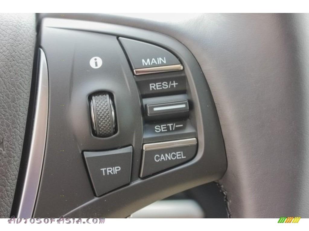 2018 TLX Technology Sedan - Bellanova White Pearl / Ebony photo #36