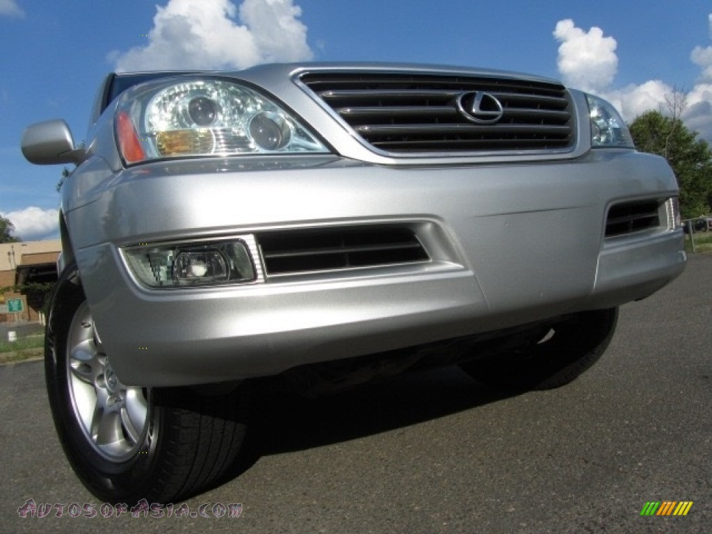 Titanium Metallic / Dark Gray Lexus GX 470