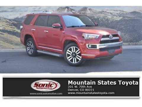 Barcelona Red Metallic 2016 Toyota 4Runner Limited 4x4