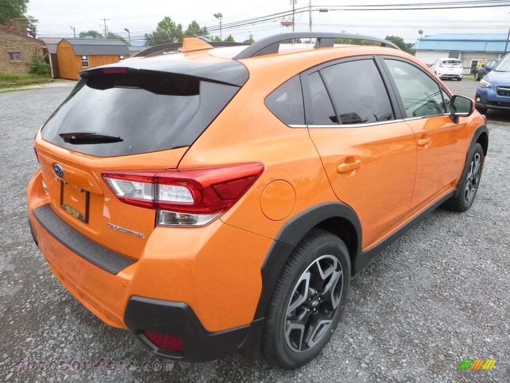 2019 Crosstrek 2.0i Limited - Sunshine Orange / Gray photo #4