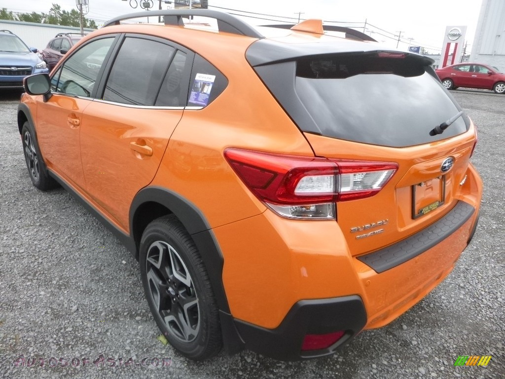 2019 Crosstrek 2.0i Limited - Sunshine Orange / Gray photo #6