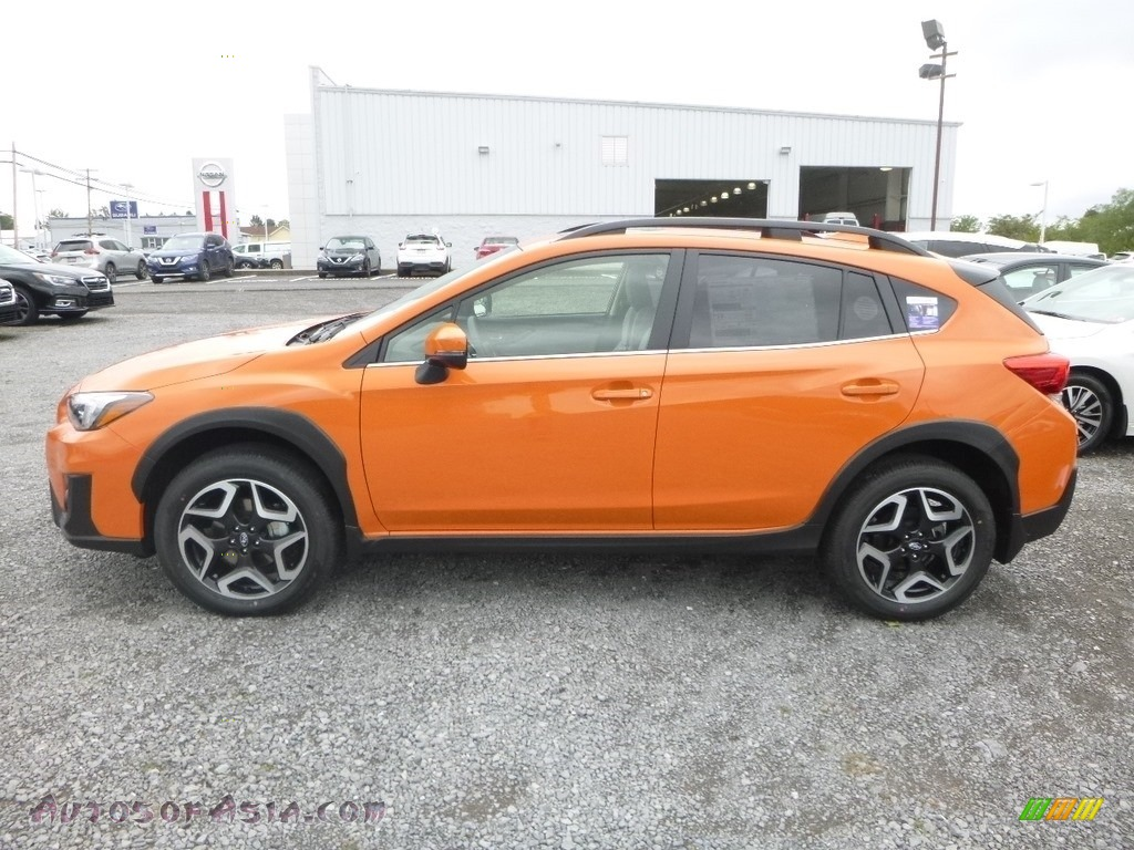 2019 Crosstrek 2.0i Limited - Sunshine Orange / Gray photo #7