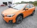 Subaru Crosstrek 2.0i Limited Sunshine Orange photo #8
