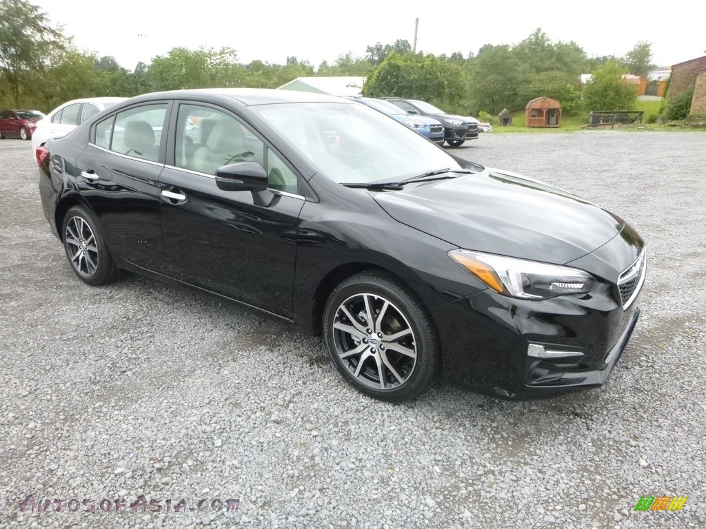 2019 Impreza 2.0i Limited 4-Door - Crystal Black Silica / Ivory photo #1