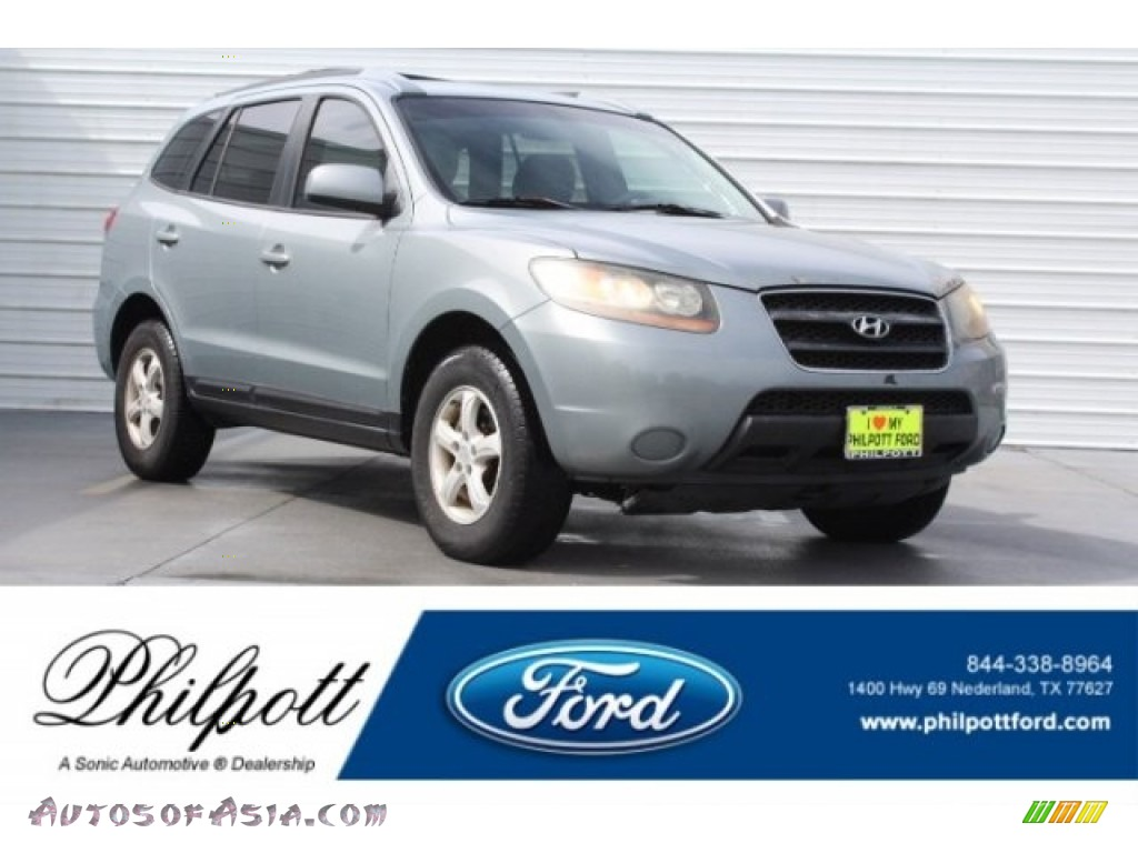 2007 Santa Fe GLS - Steel Gray / Gray photo #1
