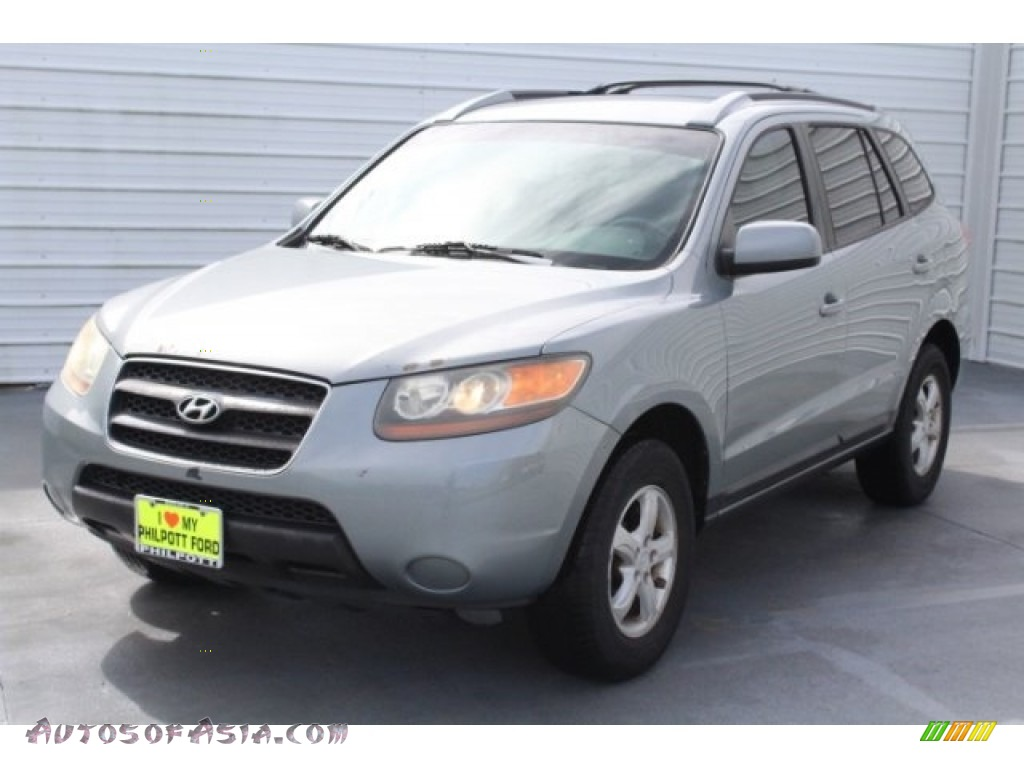 2007 Santa Fe GLS - Steel Gray / Gray photo #3