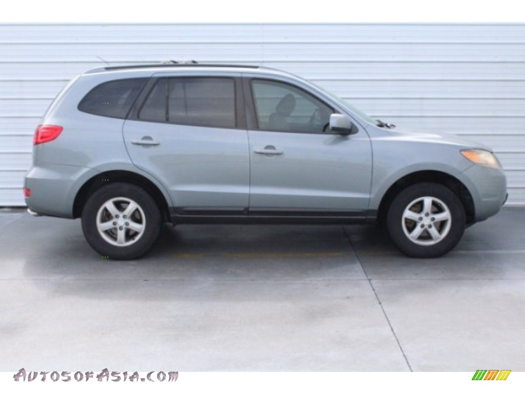 2007 Santa Fe GLS - Steel Gray / Gray photo #10