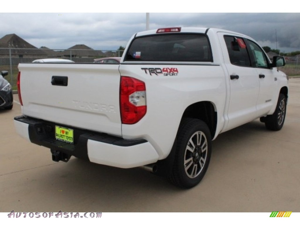 2019 Tundra TRD Sport CrewMax 4x4 - Super White / Graphite photo #8