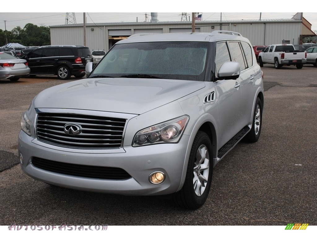 2011 QX 56 - Liquid Platinum / Graphite photo #1