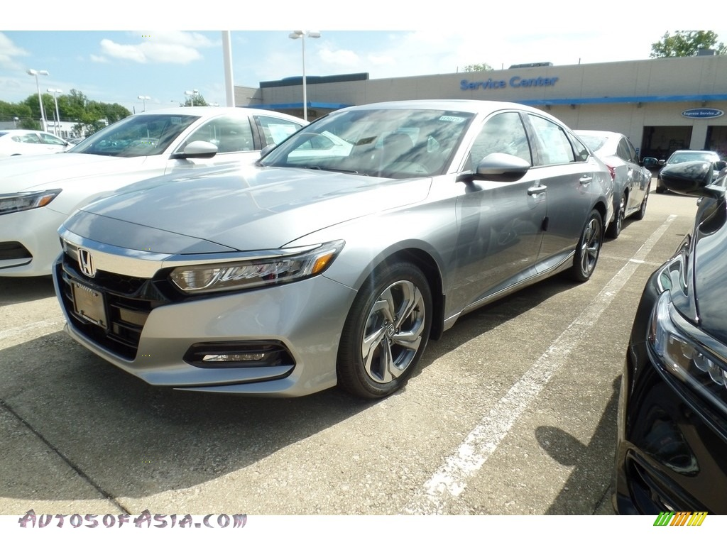 2018 Accord EX-L Sedan - Lunar Silver Metallic / Gray photo #1