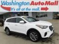 Hyundai Santa Fe SE AWD Monaco White photo #1