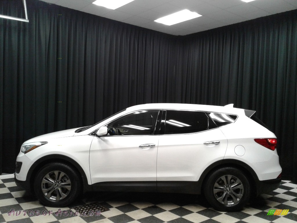 2013 Santa Fe Sport - Frost White Pearl / Beige photo #1