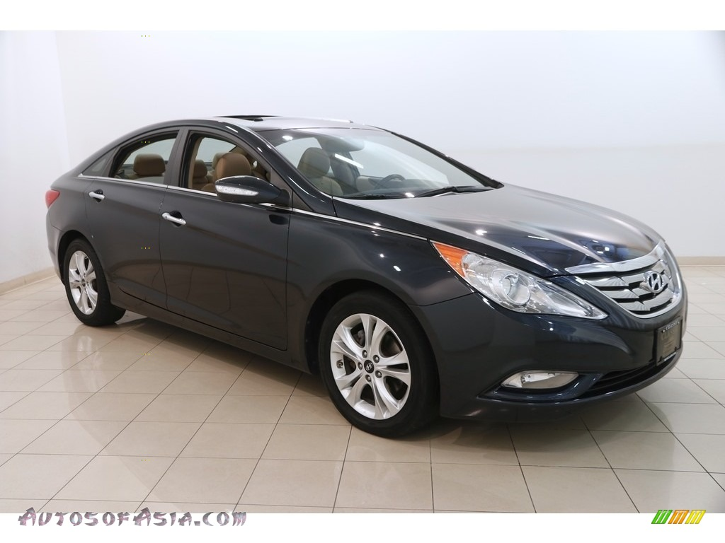 2011 Sonata SE - Pacific Blue Pearl / Camel photo #1