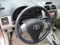 Toyota Corolla LE Sandy Beach Metallic photo #14
