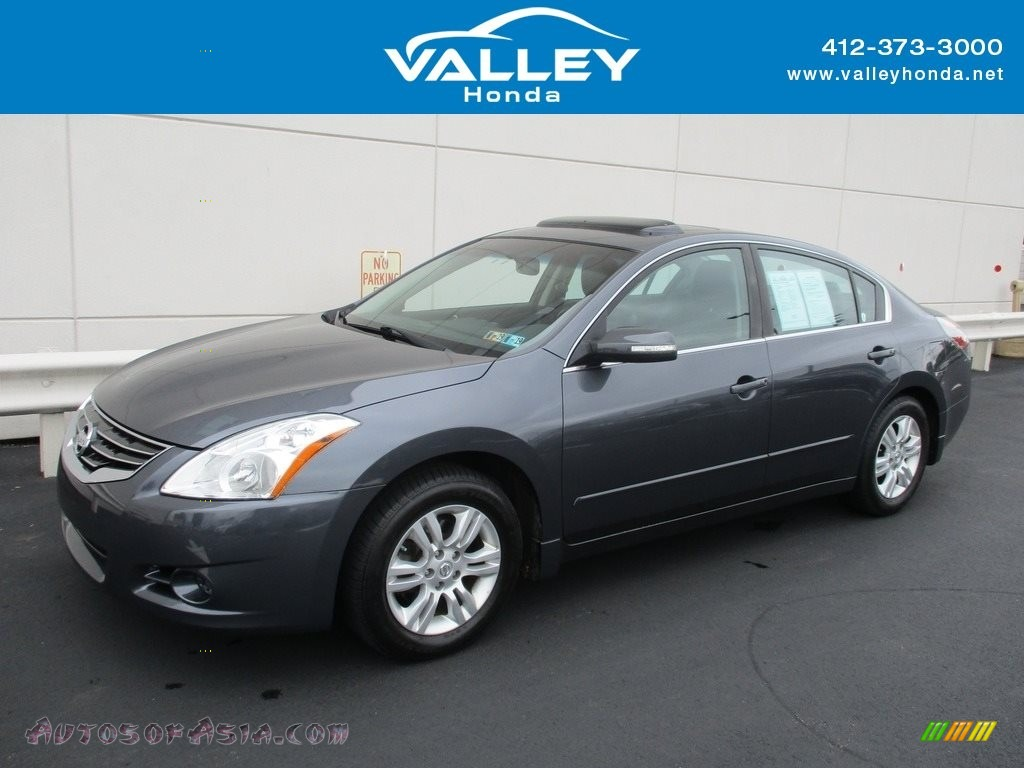 2012 Altima 2.5 SL - Ocean Gray / Charcoal photo #1