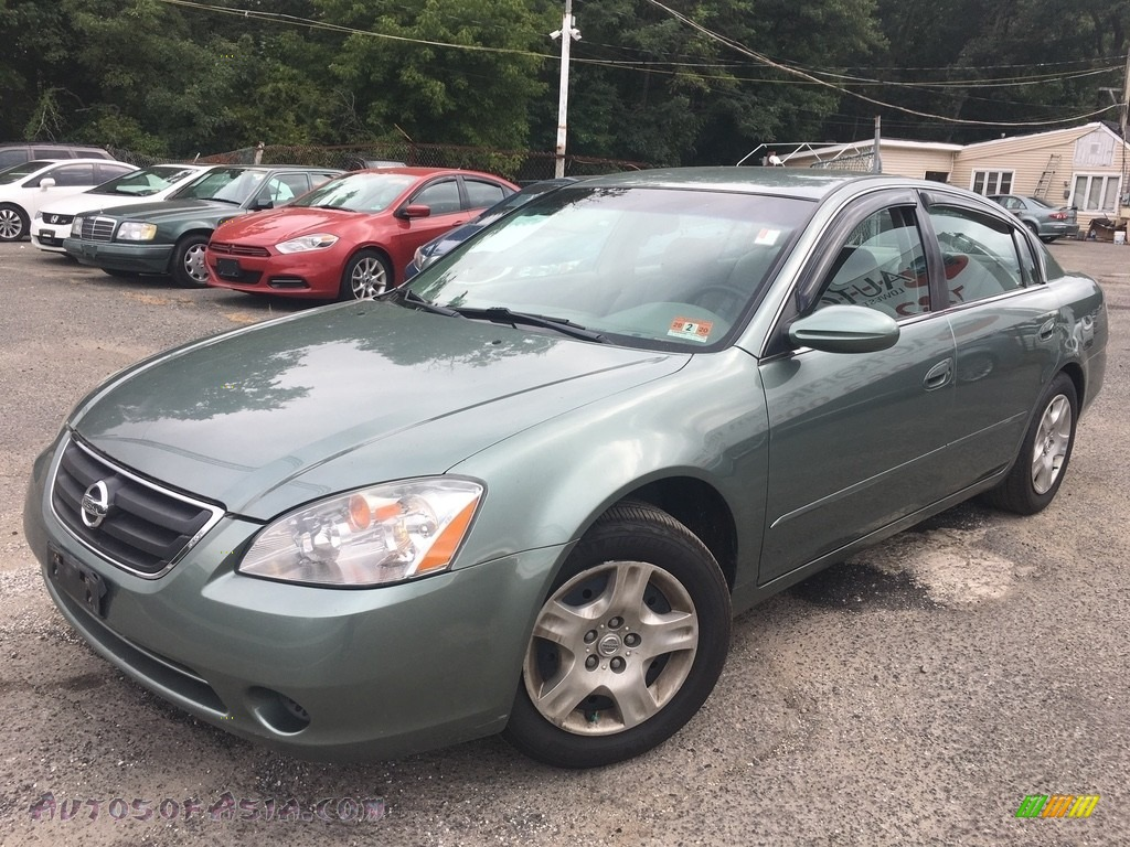 2002 Altima 2.5 S - Mystic Emerald Metallic / Blond Beige photo #1