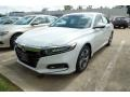 Honda Accord EX-L Sedan Platinum White Pearl photo #1