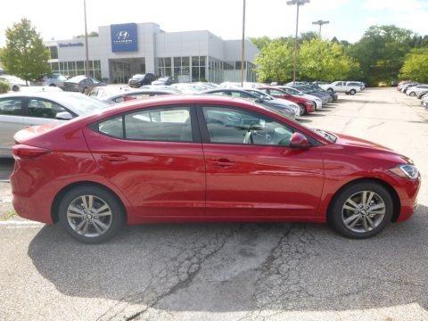 Scarlet Red 2018 Hyundai Elantra Value Edition