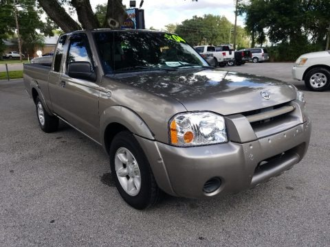 Granite Metallic 2004 Nissan Frontier XE King Cab