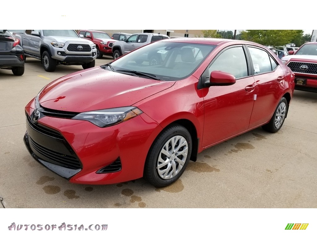 2019 Corolla LE - Barcelona Red Metallic / Ash/Dark Gray photo #1