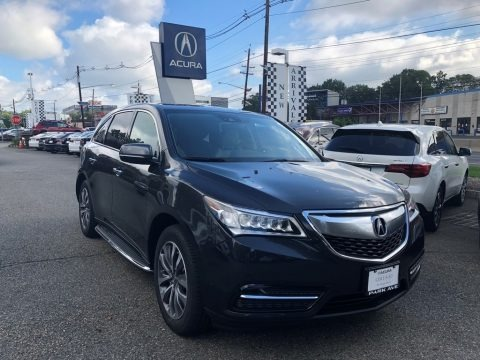 Graphite Luster Metallic 2016 Acura MDX SH-AWD Technology