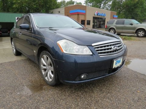 Twilight Blue Pearl 2007 Infiniti M 35x Sedan
